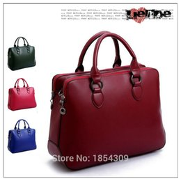 Wholesale New Women Handbags Tote Shoulder Messager Vintage Retro Bags Business Office Lady work interview Fashion Women Bag New Designer