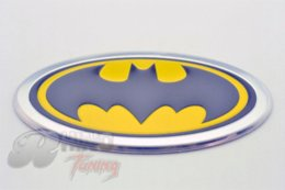 Wholesale Car Decoration Batman Aluminum Boot Trunk Car Emblem Sticker Auto Badge Sticker for All Car
