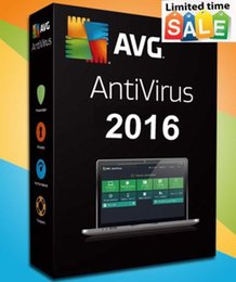 Wholesale AVG Internet Security Antivirus Software Years PC license code