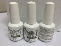 New Gelish gel Polish Top it off and Foundation LED UV Gel nail polish base coat and top coat Nail art high quality