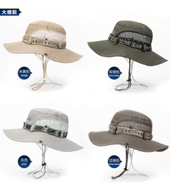 Wholesale men s casual bucket hat fisherman cap sun hat