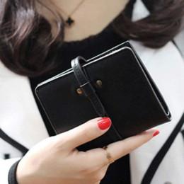 Women Ultrathin Mini Bifold Leather Wallet Card Holder Wallet Purse Cheap wallet tin High Quality purse wallet