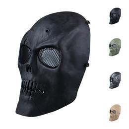 S5Q Paintball Airsoft esqueleto de la cara llena Proteger la máscara de CS campo de protección AAAGFP Máscara desde proteger a paintball fabricantes