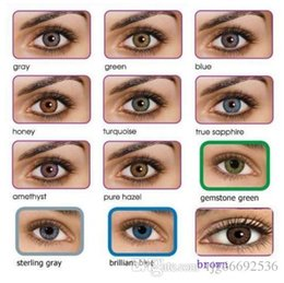 Wholesale fresh colors blends contacts crazy lens contact ready stock pair