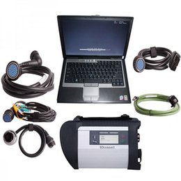 Wholesale DHL MB SD C4 SD Connect Compact With SSD Hard Drive D630 Laptop Support W7 System Works For Mercedes Cars and Trucks
