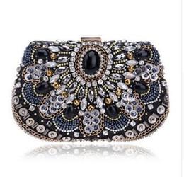 NEW women evening bags beaded wedding handbags clutch purse evening bag for wedding day clutches purse evening bags