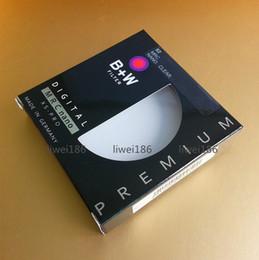 Wholesale B W UV mm MRC Nano XS PRO UV HAZE Premium Ultra thin Digital Clear Protective Filter M Filtro For Pentax Canon Nikon Sony Camera Lens
