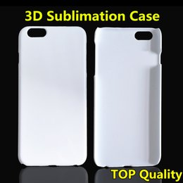 DIY 3D Sublimation Case Full Area Heat Printable White Glossy Smooth Cover For Iphone 5S 6 6S Plus Samsung S6 S7 Edge Note 5 TOP Quality