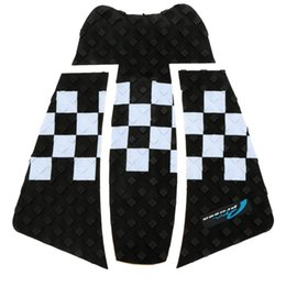 Wholesale In Stock Brand New cm Black White EVA Traction Surfboard Pads Surf Deck Pads Professional Surfing Safety Accessory