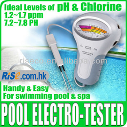 Wholesale New Swimming Pool Water pH amp Cl2 Level spa water quality monitor Chlorine Tester