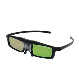Wholesale Best Quality DLP LINK Active Shutters3D Glasses for D DVD Home Theater Movie Cinema Game Projector