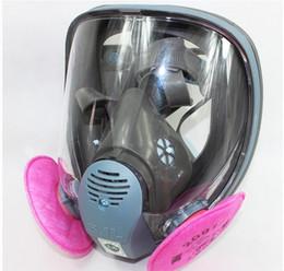 2016 SJL 6800 Gas Mask Full Face Facepiece Respirator Suit Painting Spraying