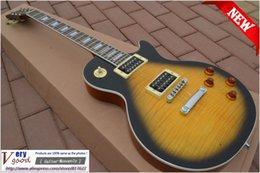 Wholesale New LP slash guitar ANS Tiger maple top mahogany electric guitar