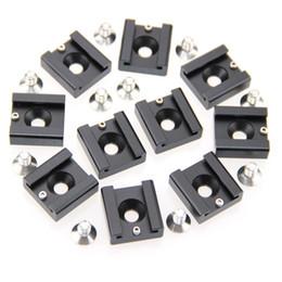 """Plates-formes de caméra pour dslr à vendre-CAMVATE 10x 1/4 """"Cold Chaussures Chaussures mont fr DSLR Rig Flash Light Camera Cage Micro"""
