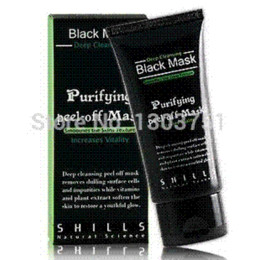 1PCS Blackhead RemoverTearing Style Deep Cleansing Purifying Peel Off the Black Head Face Black Mask Cheap mask mouth