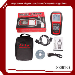 Wholesale 100 Original Autel AutoLink AL619 AL OBDII CAN ABS And SRS Scan Tool Update Online Works on ALL and newer vehicles