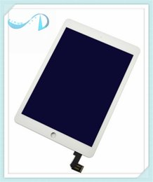 Wholesale 8Photos Front LCD Display Touch Screen Digitizer Replacement Assembly Part For IPad Air LCD Display Black whit