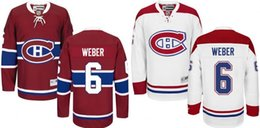 Wholesale new arrivals Men s Montreal Canadiens SHEA WEBER red and white stitched Jersey for sale