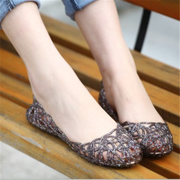 Hollow out bird's nest summer sandals Supernova Sales New Feshion breathable women shoes Designer jelly flats for women