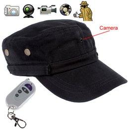 Enregistrement vidéo cachée à vendre-2 millions de pixels 1280 x 720 Invisible sténopé enregistreur vidéo Cap avec télécommande Supporte la carte TF, peut stocker la vidéo enregistrée