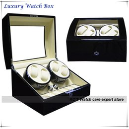 Wholesale Luxury Quality Automatic Watches Winder Wood Storage Slots houshold convenient watch collection box and great great gift