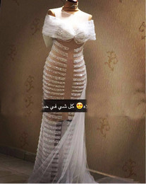 Sexy Sheer Prom Dresses 2016 Major Beaded Transparent Evening Gowns vestido de formatura With Big Bow