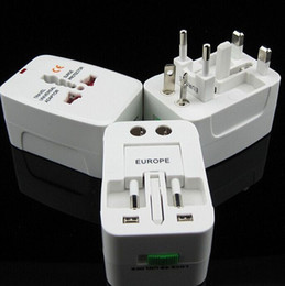 Wholesale All in One Universal International Plug Adapter World Travel AC Power Charger Adaptor with AU US UK EU converter Plug