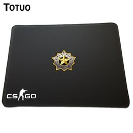 Wholesale Counter Strike Global Offensive Event CSGO Distinguished master guardian rank logo Covered edge Mouse mouse pads sign Best Optical large Pad