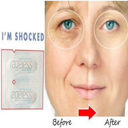Wholesale Hottest Sachets JEUNESSE AGELESS Eye Cream Instantly Face Lift Anti Aging Skin Care Products Wrinkle free DHL Shipping invalid refund