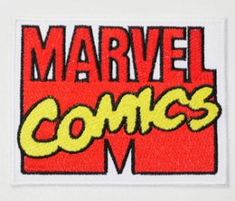 "3.54"" MARVEL COMICS LOGO TV MOVIE Costume Uniform Embroidered Emblem applique iron on sew on patch"