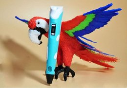 Wholesale New nd D magic pen With Color MABS Filament and free nozzle best d printer tablet lcds for kids