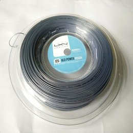 2017 Time Limited High Quality Luxilon for Big Banger Rough Not Smooth Tennis String 726 Feet Head Tennis Strings,quality 1.25MM grey color