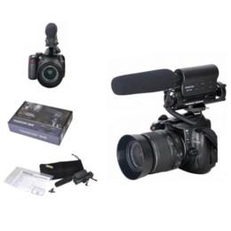 TAKSTAR SGC-598 PRO Shotgun DV Enregistrement stéréo Interviews Microphone MIC pour Canon Nikon Toute caméra DSLR Caméscope DV à partir de dslr video pro fournisseurs