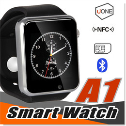 Wholesale A1 Smart Watch Bluetooth DZ09 U8 GT08 Smartwatch Apple iWatch Support SIM TF Card Smart Watches for Smartphone with Retail Package