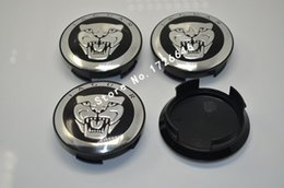 Wholesale 4pcs mm quot Black Jaguar wheel Center Cover Hub Caps Fit for Jaguar XJ8 XK8 XKR S Type X type