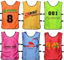 Wholesale Adult children s running sundress basketball football training service against packet service vest clothing advertising development