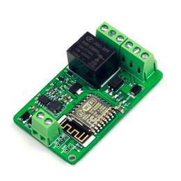 Wholesale DC V ESP8266 WIFI Relay Module ESP F Network Relay Module V A Development Board High Quality