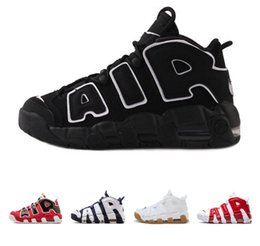 Wholesale yumatrade Air More Uptempo OG quot Olympic quot Asia Hoop Pack quot White Gum quot Men Basketball Shoes Outdoor Sport Shoes