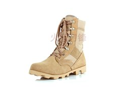 Wholesale Classical hot sale US army design desert boot cow leather rubber sole suit outdoor man military boot