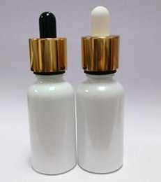 Wholesale hot ml of bright white circular glass e and pure fruit juice bottle ecig bottle glass electronic cigarette