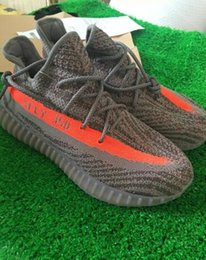Wholesale Season SPLY new v2 boost sply boots Kanye West SPLY Boost V2 big orange streak across Y3 Boost