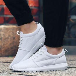 Fashion Men Shoes 2016 Breathable Spring And Summer Mens Light Casual Trainer Shoes Plus Size 39-46 Hot Sale lot drop shipping