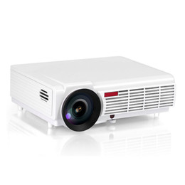 Wholesale Top Lumens Home Theater Projector LED P HD D LCD Projectors with HDMI VGA USB AV Best Home Protector