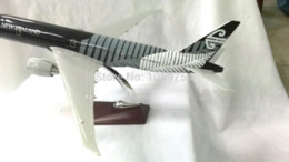Wholesale 47CM AIR NEW ZEALAND BLACK Resin airplane models airplane pictures to color