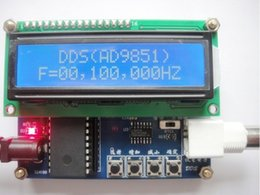 Wholesale x AD9851 DDS Function Signal Generator Mhz DDS signal source DDS Module cable