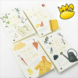 Wholesale quot The Best quot Hard Cover Blank Diary Sketchbook Cute Planner Pocket Journal School Study Business Notebook Memo Agenda Notepad Gift