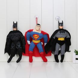 DC Super Heroes Superman movilización general Batman Negro Máscara juguete de peluche 16