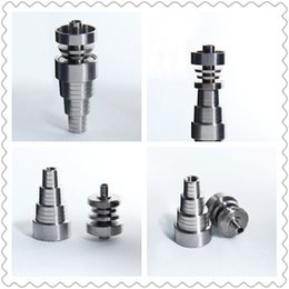 factory direct best price domeless titanium nail fit 10 14 18mm male and female fit 6 in 1