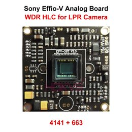 Wholesale HLC WDR TVL Module Board PCB Circuit with Sony Effio V CCD Super Digital Wide Dynamic for LPR Security Analog Camera System