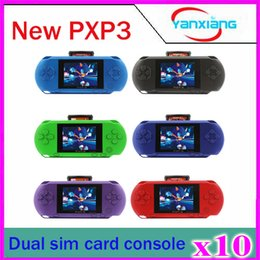 Wholesale 10pcs PXP3 bit inch screen Pocket Handheld Video Game Player Console System Games ZY PXP3